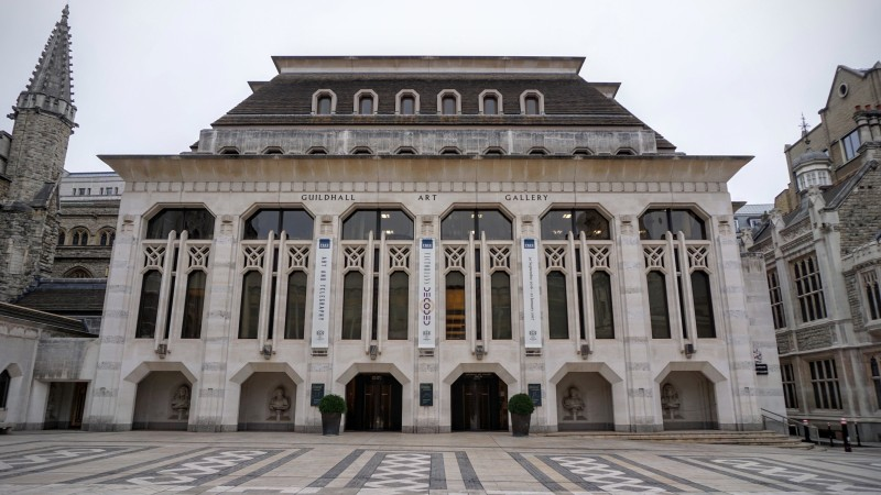 Guildhall Art Gallery Facade