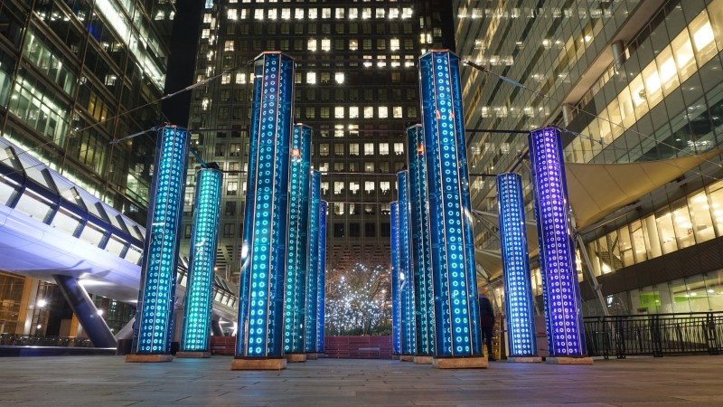 Winter Lights Canary Wharf 2016 (33)