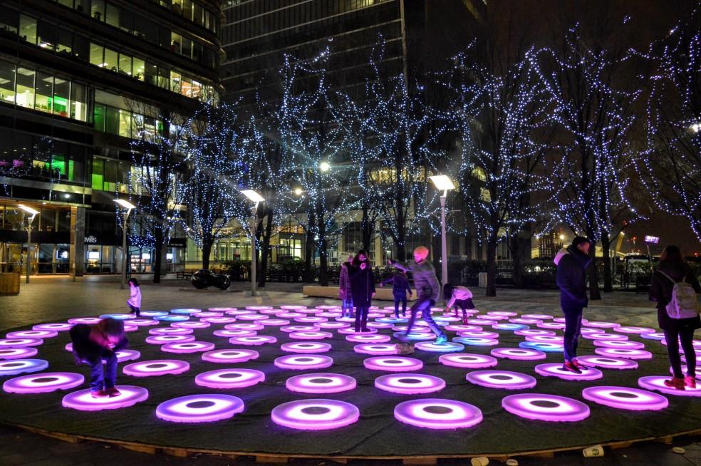 Winter Lights Canary Wharf 2016 (5)